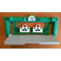 Műanyag röpdeszka és kijáró záró/szűkítő