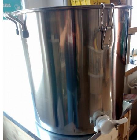 75 kg INOX mézletöltő tartály