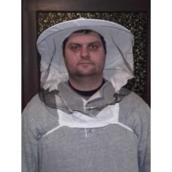 Méhész kalap XXL, Fehér