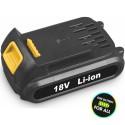 FDUZ 50002 Li-ion akkumlátor 18V/ 2000mAh