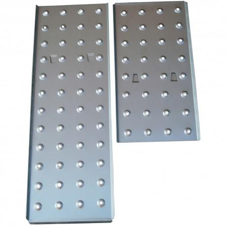 2db acél taposólemez az FZZ 4007 létrához FZZ 9007
