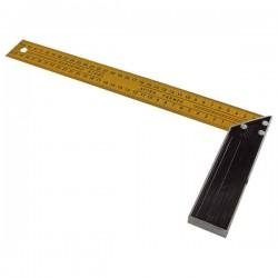 Asztalos derékszög 350×160mm, (festett alumínium) mm beosztással