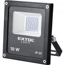 10 W LED lámpa falra szerelhető reflektor