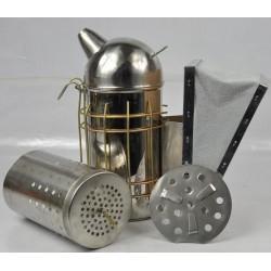 Kivehető betétes - Közepes - Európai füstölő INOX