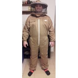 Méhész overál zippzározható kalappal S - 3XL